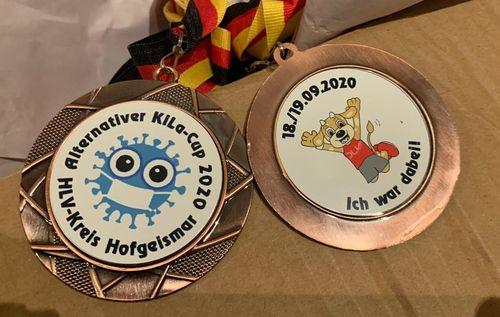 156 Medaillen überreicht