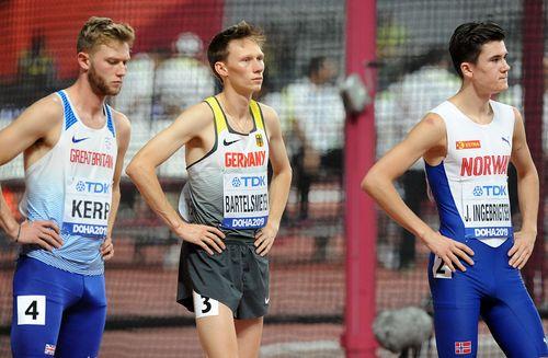 Endstation für Amos Bartelsmeyer im 1500-Meter-Halbfinale - Michael Pohl kommt in der Sprintstaffel nicht zum Einsatz
