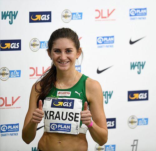 Gesa-Felicitas Krause lässt über 1500 Meter nichts anbrennen - DM-Bronze für Maryse Luzolo - gelungenes Comeback für Julia Gerter im Weitsprung und Nele Weßel über die 800 Meter